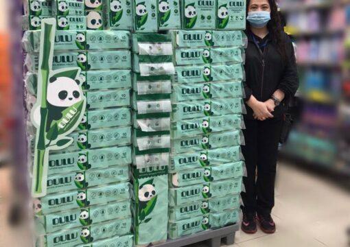 OULU 100%環保純竹槳紙巾🐼🎋秀荗坪惠康推廣活動🎉
